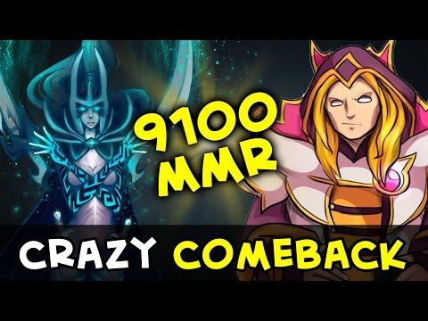 9000 MMR epic comeback — w33 vs Madara
