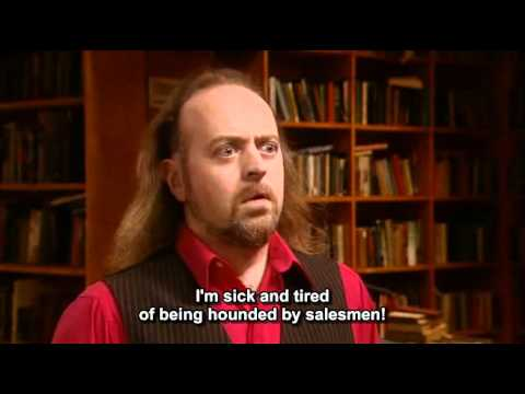 Black Books - Manny & the customer