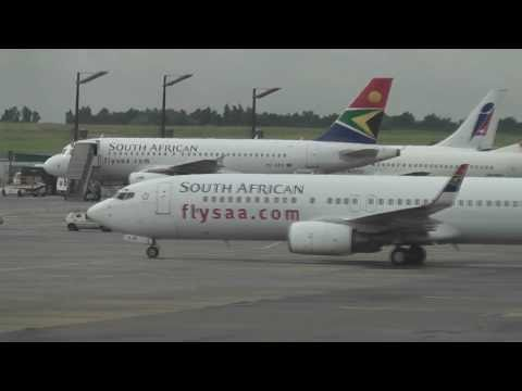 Spotting at Johannesburg airport FAJS / Landings and take offs