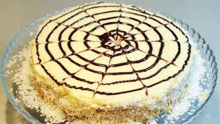 Пошаговый фото рецепт торт из зефира