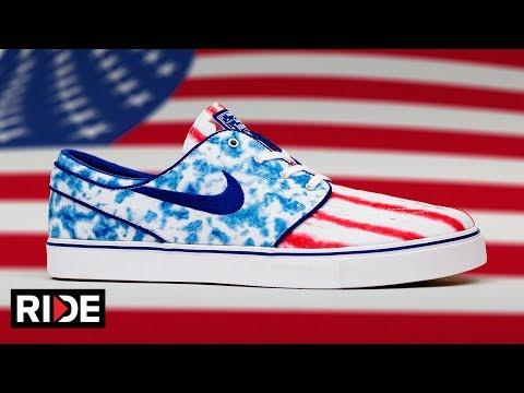 NIKE Janoski Shoe Review Session - USA Edition