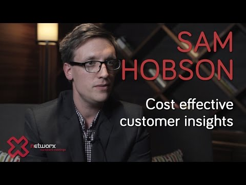 Cost Effective Customer Insights with Sam Hobson