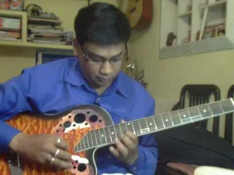 Kisi roj tumse Mulakat hogi Solo on Guitar