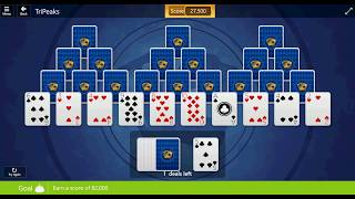 Microsoft Solitaire Collection: TriPeaks - Expert - August 25th, 2017
