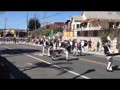 Buhach Colony High School Street Percussion - Santa Cruz Band Review 2013