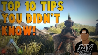 Ark Survival Evolved PS4 Tips - Top 10 Tips You Didn't Know!