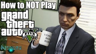 GTA 5 Online Funny Moments - The Office