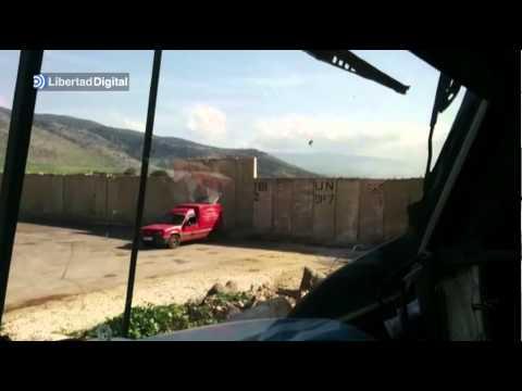 Así fue el ataque del Ejército israelí sobre las posiciones españolas