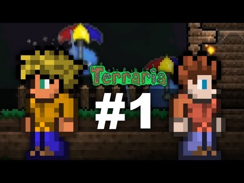 Terraria 1.2 (Co-op) - Ep. 1: Umbrella Slimes!