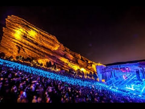 skrillex live @ red rocks 2014 FULL SET 1080p HD