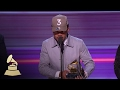 Chance The Rapper Wins Best Rap Album  Acceptance Speech  59th GRAMMYs -