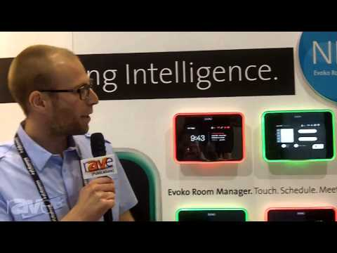 InfoComm 2013: Evoko Demos Room Manager Digital Signage
