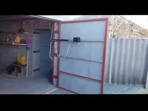 Ворота распашные самодельные купить ворота и калитку для дачи в тамбове
