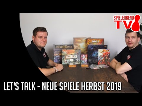Let's Talk - Neue Spiele Herbst 2019
