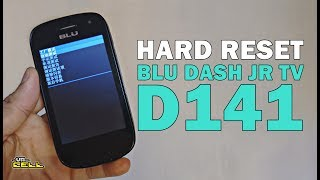 Como aplicar o hard reset no BLU Dash Jr TV D141