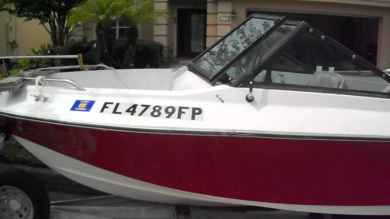 1988 vs 16 ft fish n ski boat sportcraft 60 hp johnson for 16 ft fishing boat