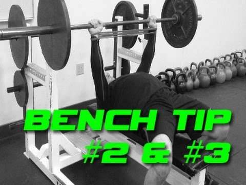 Best Bench Press Tips #2 & #3 - More Speed and More Tension - Increase Your Bench Image 1