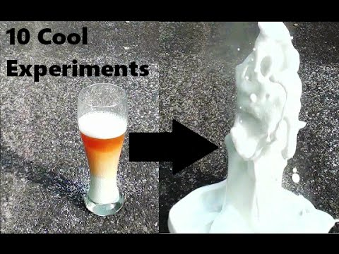 10 Amazing Science Experiments You Can Do @ Home.
