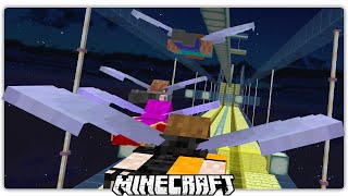 Minecraft | Zero Gravity Elytra Obstacle Course