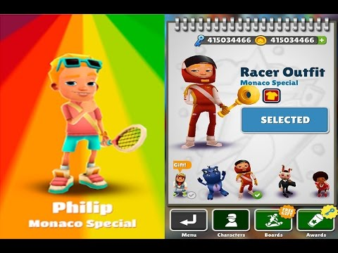 Subway Surfers New Update Map Monaco - Philip vs Philip Racer ...