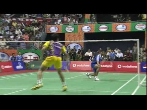 K Srikanth Vs P Kashyap | Men's Singles | Awadhe Warriors Vs Banga Beats 2013