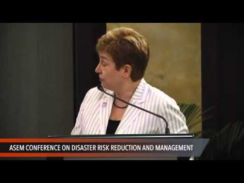 ASEM conference: Opening from Del Rosario and Georgieva