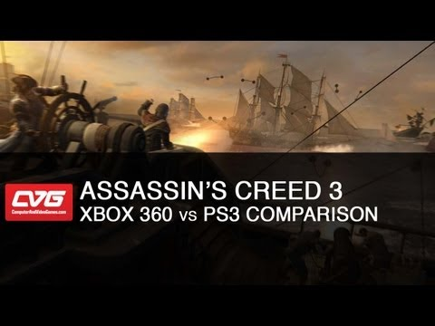Assassin's Creed 3: Xbox 360 vs PS3 Comparison HD