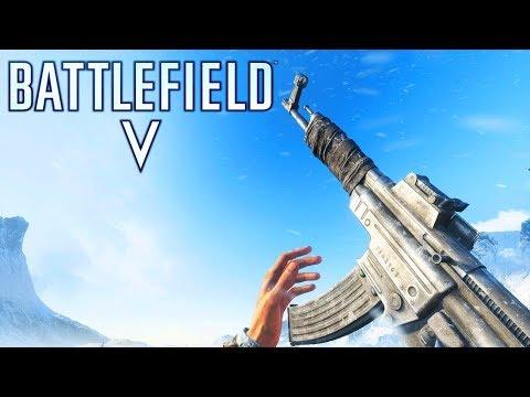 BATTLEFIELD 5 Gun Sounds of All Weapons