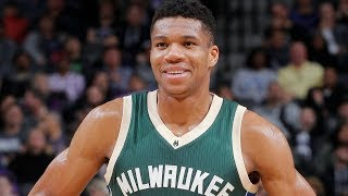 Giannis Antetokounmpo BEST PLAY from EVERY GAME | 2016-2017 Season