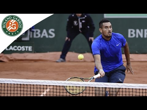 Kyrgios v Cecchinato - 2016 Roland-Garros Men's Highlights / R1