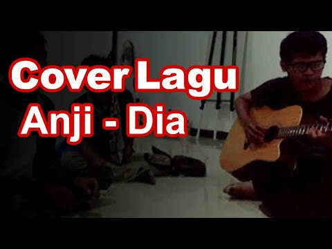 Suara merdu !! Cover (Anji - Dia) akustik
