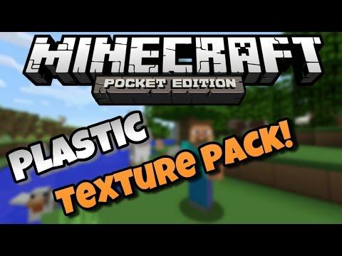 Plastic Texture Pack MCPE 0.9.5