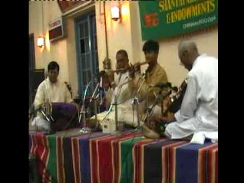 CARNATIC FLUTE -MAESTRO T.S.SANKARAN AND J.A.JAYANT  RECITING