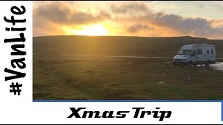 Christmas in the Van and Short Trip - Yorkshire Dales & Peak District.  Malham, Skipton, Calver