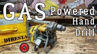 Gas-Powered Hand Drill [DiRestoration]
