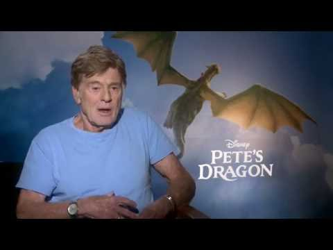 Pete's Dragon Interview - Robert Redford