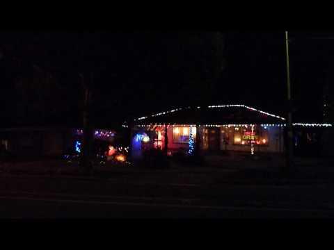 christmas lights video  2009