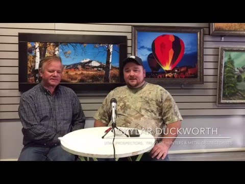 Interview with Skylar Duckworth, Founder of Utah Prospectors , Treasure Hunters & Metal Dectectorist