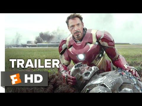 Captain America: Civil War Official Trailer #1 (2016) - Chris Evans, Scarlett Johansson Movie HD