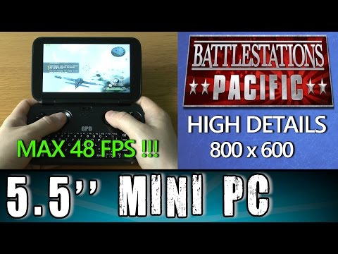 1# GPD Win Battlestations: Pacific (PC) Portable Handheld Gaming Mini PC Intel X7 Z8700