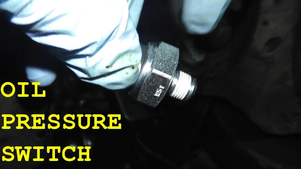 nissan altima oil pressure switch location