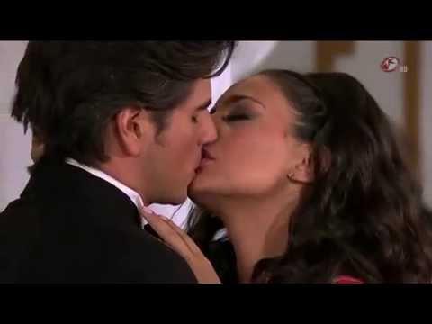 Primer beso de María Alejandra y Octavio en Corazón Indomable