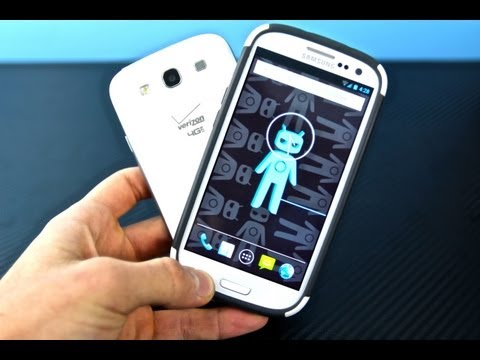 Samsung Galaxy S3 Running 4.2.1 - CyanogenMod 10.1 Review Jelly Bean Rom