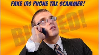"""FAKE IRS Agent """"Jack Smith"""" Tries To Scam Me Out Of $7600!"""