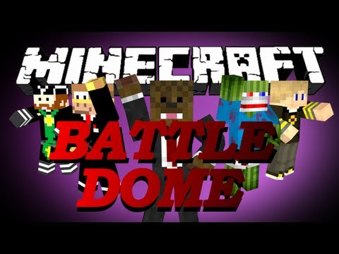 FAILDOME Minecraft BattleDome w/ CaveManFilms, Bashur, GoldSolace, and KleinBagel! #5