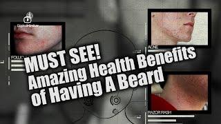 MUST SEE! AMAZING Health Benefits of Having A Beard – #Health
