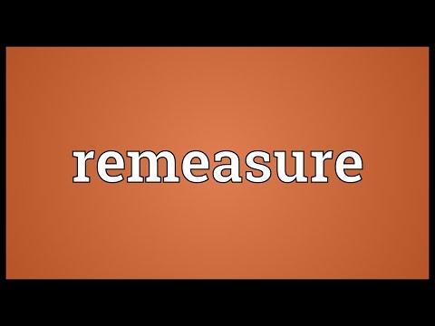 Header of remeasure