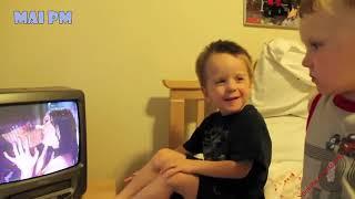 BABY JEALOUS - Babies Get JEALOUS When Mom KISSES(480P)