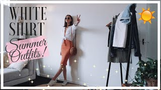 White Shirt Outfits for Summer 2019 | Lookbook