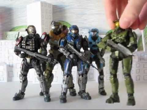 McFarlane Toys Halo Reach Carter (A-259) Toy Review
